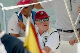 El rey Juan Carlos, de vacaciones en Saint Tropez