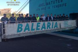 La Guardia Civil de Baleares se forma para inspeccionar grandes buques