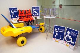 La playas de Balears tendrán 'kits' de accesibilidad para las personas con movilidad reducida