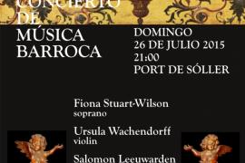 Concierto de música barroca en el Port de Sóller