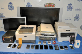 'El ladrón de abogados' confiesa que robó en 17 despachos del centro de Palma