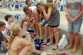 Aumentan el botellón y la venta ambulante en la Platja de Palma
