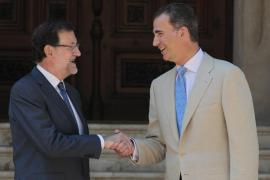 Rajoy viajará la primera semana de agosto a Mallorca para su tradicional reunión con el Rey