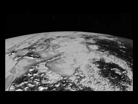 Nuevas imágenes de Plutón, cubierto de niebla y hielo