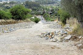 Las obras de la carretera de Moscari están paralizadas por un litigio entre empresas