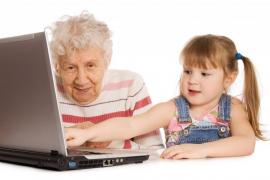 Los abuelos son cada vez más importantes en la estructura familiar