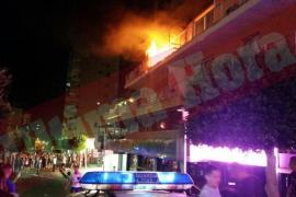 Incendio en un piso de Magaluf