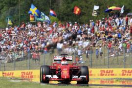 Vettel gana en Hungría, Alonso acaba quinto y Hamilton sigue líder