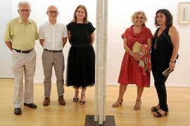 Margalida Escalas presenta su obra en la Fundación Coll Bardolet