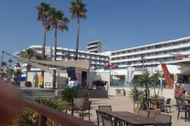 Un joven, herido grave tras caer de una altura de cinco metros en un hotel de Magaluf