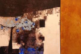 'Dins la maleta de partir', de Alícia Llabrés, en la Galería Dionís Bennàssar