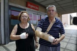 Cuatro turistas borrachos agreden a un matrimonio de 67 años en la Platja de Palma