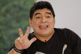 Maradona quiere presidir la FIFA para «luchar contra la mafia»