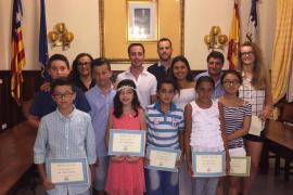 El Consistorio de Santanyí premia a los mejores estudiantes del municipio