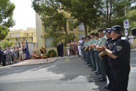 Homenaje a los guardia civiles asesinados por ETA