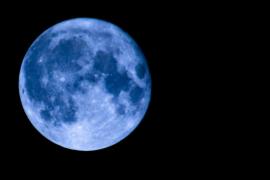 Este viernes habrá una  «luna azul», algo que sucede cada tres años