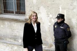 Castro dicta la devolución a la infanta de 735.111 euros aportados al Juzgado