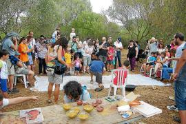 Éxito de participación en el Festival de la Arqueología en los Closos de Can Gaià