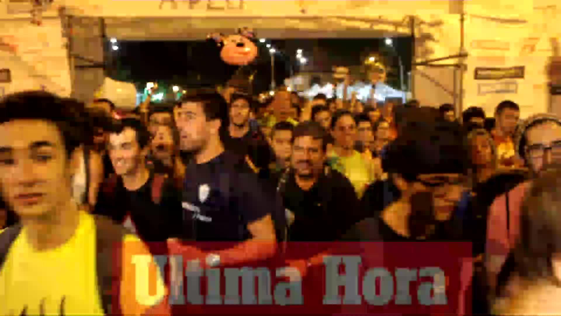 Miles de personas inician la Marxa des Güell a Lluc a Peu