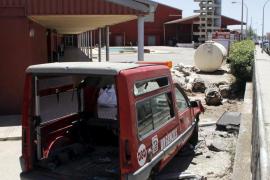 Fallece un hombre de 48 años tras precipitarse desde la antigua torre de Bomberos de Son Castelló