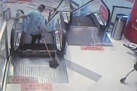 Un trabajador pierde su pie en otro accidente en una escalera mecánica en China