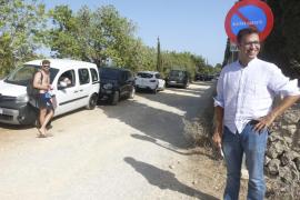 Manacor prohíbe aparcar en el camino de acceso a Cala Varques ante la alta presión de visitantes