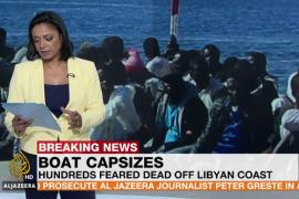 Naufraga una embarcación con cientos de personas a bordo frente a Libia