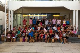 El Ajuntament de sa Pobla recibe a 40 niños de Bielorrusia y Ucrania