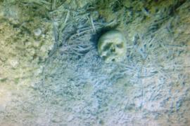 La Guardia Civil investiga el hallazgo de un cráneo humano en la Colònia  de Sant Jordi
