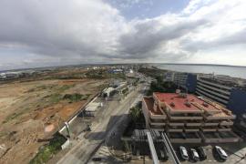 Cort, Pimeco y Afedeco analizan el estado de las obras del centro comercial de Ses Fontanelles