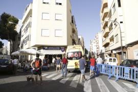 Desalojan un edificio en Palma por riesgo de derrumbe