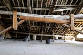 El convento de Santa Elisabet no es adecuado para albergar obras de arte