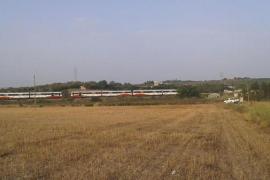 Un hombre fallece atropellado por un tren de la línea Manacor-Palma