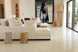 Los revestimientos 'vintage' triunfan en Eivissa con Cemento Decorativo