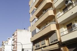 Cort ordena apuntalar el edificio de Pere Garau desalojado este jueves