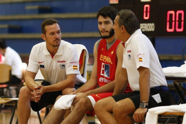 Alex Abrines, con fascitis plantar, primer lesionado del equipo español