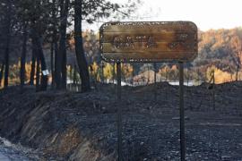 Continúa por precaución el nivel 2 en el incendio de la Sierra de Gata, que ya está estabilizado