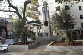 Albaïna pide la retirada del monumento franquista a los caídos en Sóller