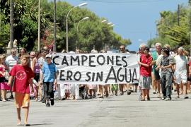 Ajuntament y Govern reclamarán por los perjuicios del corte de agua en las urbanizaciones