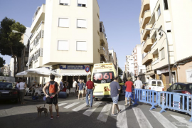 El edificio desalojado en Pere Garau será apuntalado a finales de semana