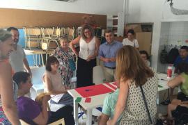 La escuela de verano de Amadiba de Inca atiende a 45 usuarios de toda la comarca