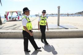 Dos agentes británicos se suman a las patrullas de Magaluf contra el turismo de borrachera