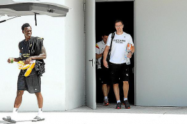 Alemania se concentra en Mallorca