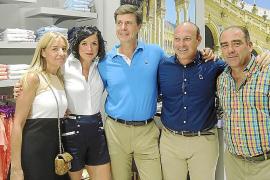 Cayetano Martínez de Irujo presenta la tienda Piel de Toro en Palma