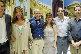 Cayetano de Alba inaugura tienda en Palma