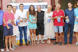 Entrega de premios del VI Torneo de Golf Soft Line en Puntiró