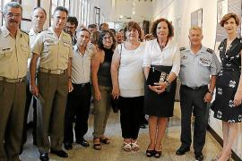 Inauguración de la muestra 'Libros y bibliotecas. Tesoros del Ministerio de Defensa