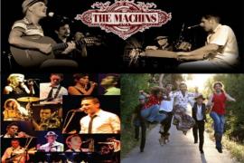 The Machins, Dr.Gang y La Vereda juntos en la Plaça d'Alaró