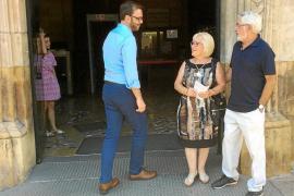 Lista de espera para hablar con el alcalde de Palma