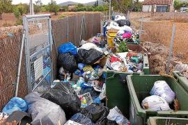 MÉS critica que las áreas de aportación de basura de Algaida se han convertido en un problema